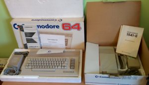 Commodore 64 dobozában