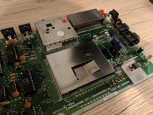C64 1984 breadbin motherboard